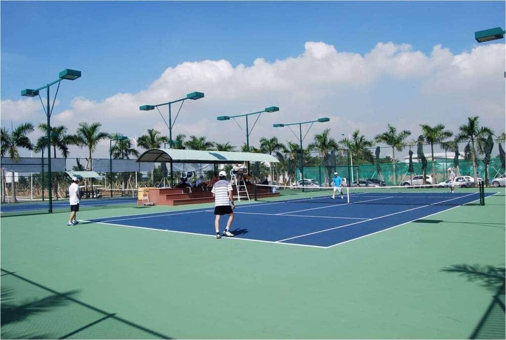 tiêu chuẩn thi công sân tennis