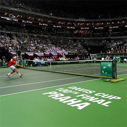 Sân Tennis trong nhà